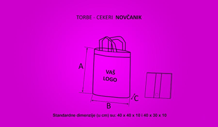 Torbe Cekeri Novčanik